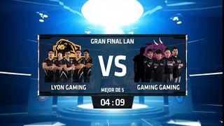 Lyon Gaming vs Gaming Gaming - La Final 187
