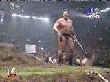 Undertaker,Big Show vs The Rock,Mankind(Buried Alive Match)