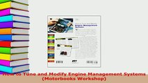 Download  How to Tune and Modify Engine Management Systems Motorbooks Workshop Download Online
