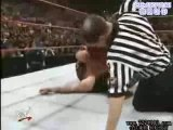 Triple H pedigree mick foley in thumbtacks