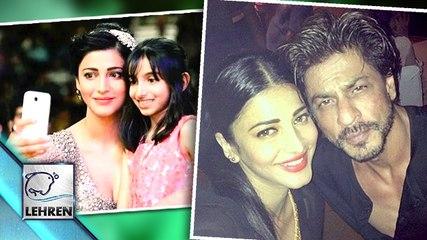 "Shruti Haasan Becomes A ""Selfie Queen"""