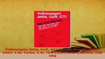 Download  Volkswagen Jetta Golf GTI Service Manual 19992003 18L Turbo 19L TDI Diesel 20L Download Full Ebook