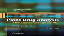 Download Plant Drug Analysis  A Thin Layer Chromatography Atlas