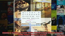 Standard System of Salon Skills Hairdressing Student Course BookClinic Success Journal