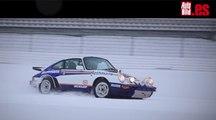 Porsche 911 SCRS: drift de locos en un Nürburgring nevado