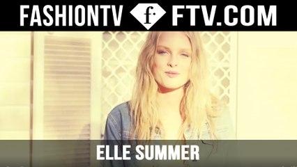 Behind The Scenes ELLE Summer Fashion Photoshoot | FTV.com