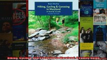 Hiking Cycling and Canoeing in Maryland A Family Guide