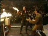 Inferno-Undertaker v Kane RAW 1999-Bear on Fire