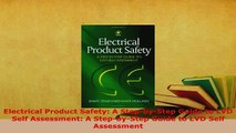 PDF  Electrical Product Safety A StepbyStep Guide to LVD Self Assessment A StepbyStep Download Online