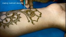 Beautiful Easy Arabic Mehndi Designs for Hands 2016-adorable henna design-henna tattoo-mehndi pattern- arabic henna - mehndi wedding-simple mehndi designs