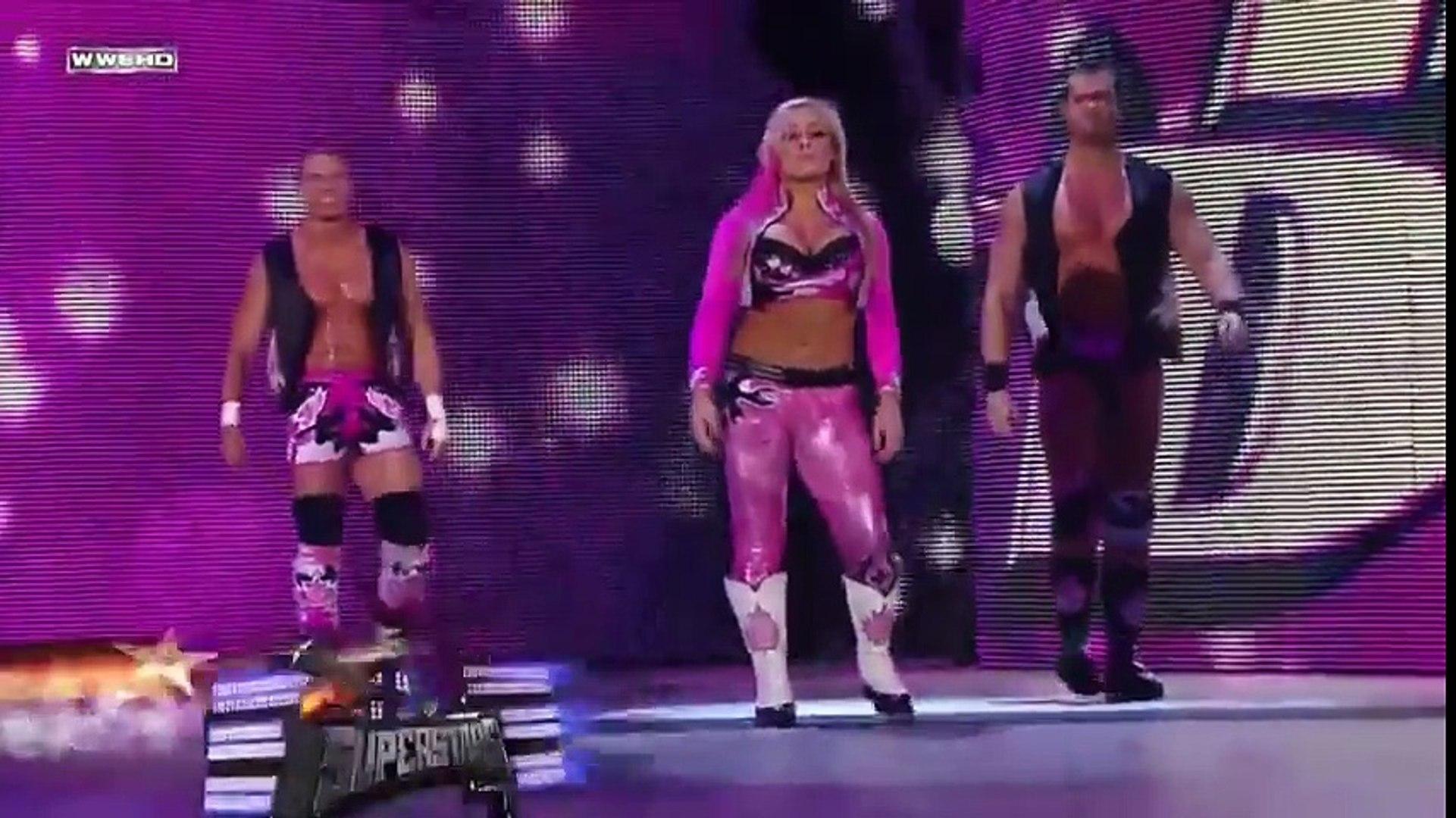 The Great Khali, Matt Hardy and Maria (w/ Ranjin Singh) vs. The Hart Dynasty