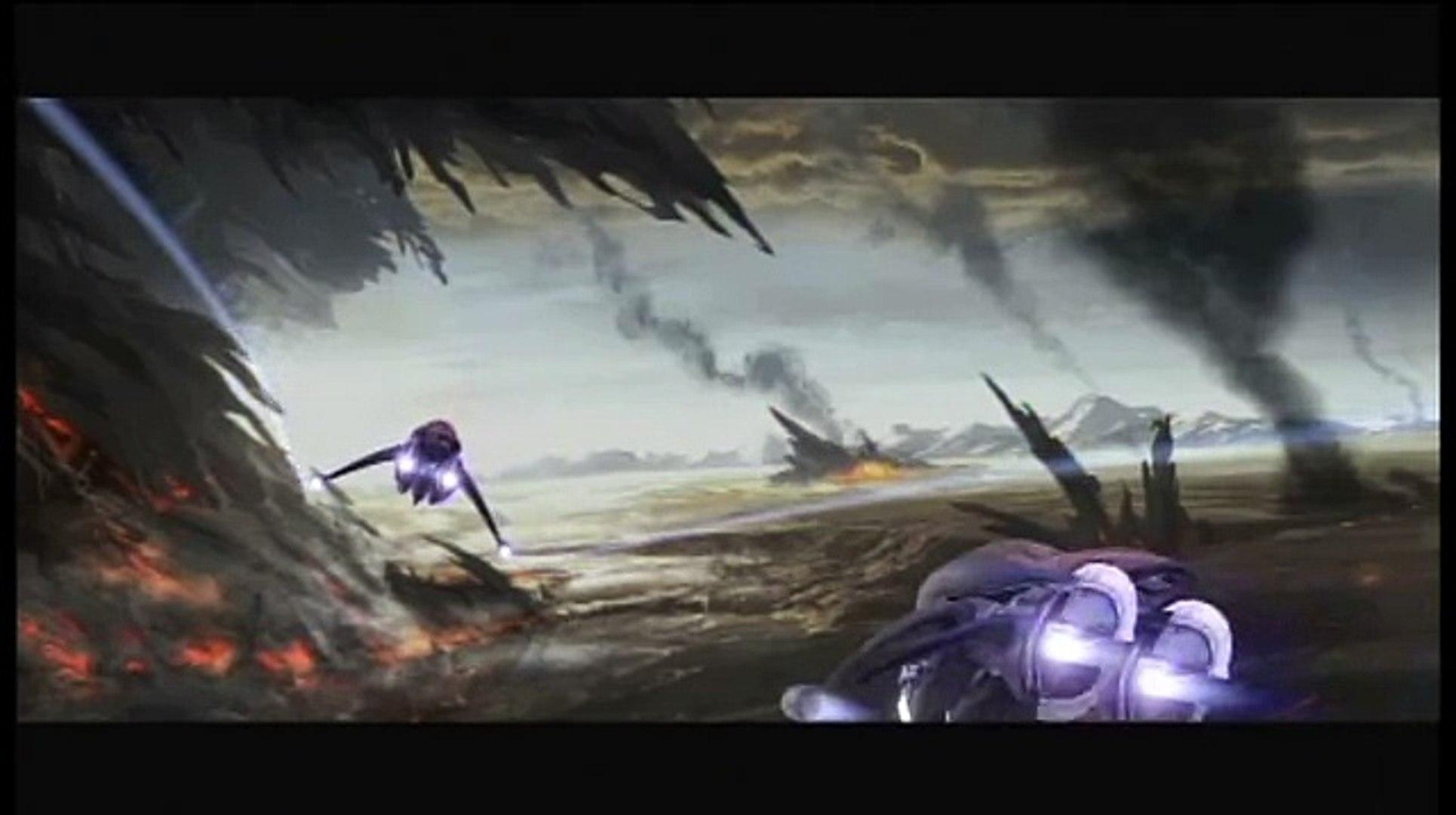 Cortana Opening Co-Op [Halo 3 cutscene]