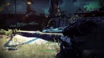 Lets Play Destiny Beta German #002 (Im Tower mit Gaucho tanz)
