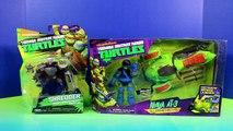Nickelodeon Teenage Mutant Ninja Turtles TMNT Leonardo Ninja AT-3 Vs. Shredder & Removable Helmet