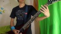 Sonata Arctica - Broken Cover Guitar full solo By Cristian Saucedo