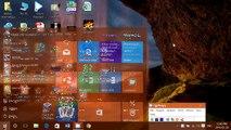 Windows 10 How to customize taskbar start menu colors in the settings menu