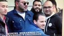 le roi mohamed 6 photos avec marocains hollande - الملك محمد السادس يلتقط الصور مع مغاربة هولندا