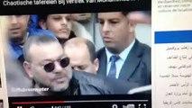الملك محمد السادس وسط زحمة مع معجبين مغاربة هولندا- mohamed 6 avec plein de marocain  amsterdam
