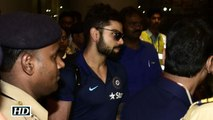 T20 WC Semi final Team India Arrive in Mumbai