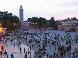 Praça Jemaa el-Fna, Marrakesh - Marrocos / Jemaa el-Fna Square, Marrakesh - Morocco