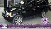Vente - Diesel - LAND ROVER RANGE ROVER SPORT - 2009