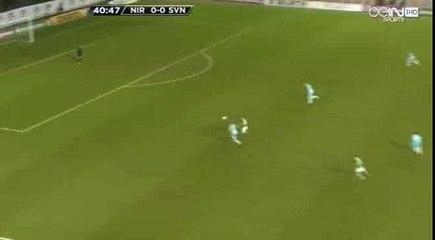 Гол  Конор Вашингтон · Северная Ирландия - Словения - 1:0