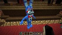 Minecraft | Five Nights at Freddys World Mod Showcase! (FNAF WORLD ROLEPLAY MOD)
