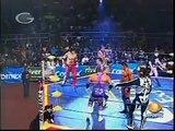 AAA-SinLimite 2009-01-31 Chalco de Covarrubias 06 El Mes?as, La Parka & Silver King vs. Kenzo Suzuki, Nicho el Millonario & Joe L?der