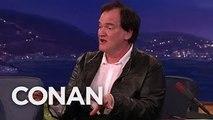Quentin Tarantinos Post-Directing Career Plans - CONAN on TBS