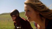 EXCLUSIVE: Melissa Benoist and Grant Gustin Talk Suit Envy for 'Supergirl' and 'Flash' Crossover