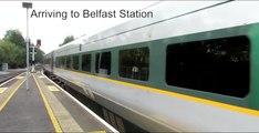 Train Dublin to Belfast (subtítulos español)