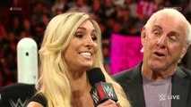 720pHD WWE RAW Brie Bella attack Charlotte Segment