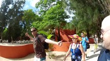 The Dragon's Tail roller coaster in Labadee Haiti