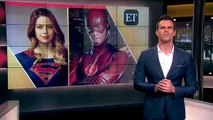 EXCLUSIVE: Melissa Benoist and Grant Gustin Talk Suit Envy for Supergirl and Flash Crossove