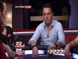 Jungleman does the old check raise bluff on the river against Sam Trickett