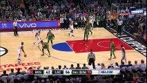 Paul Pierce Scary Knee Injury   Celtics vs Clippers   March 28, 2016   NBA 2015-16 Season