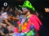 THE UNDERTAKER AND RANDY THE MACHO MAN SAVAGE VS. RIC FLAIR AND BERZERKER - WWF WWE Wrestling