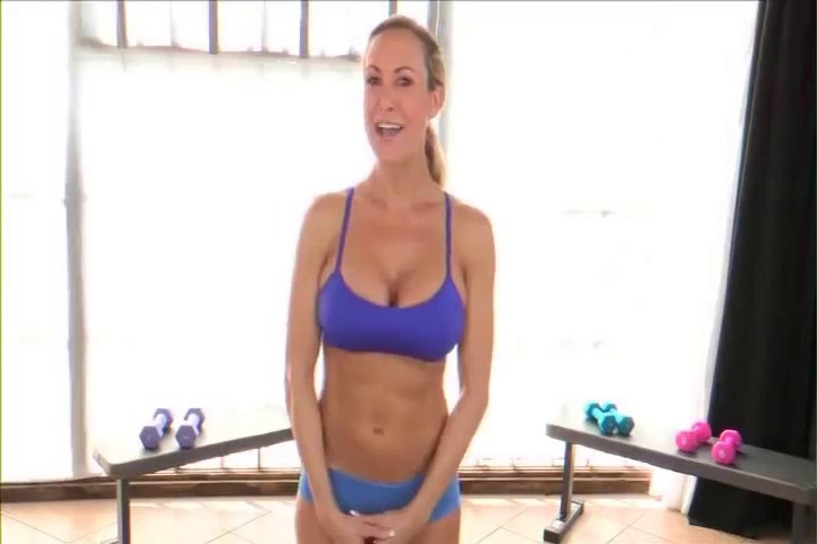 Gym brandi love Hot fitness