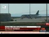 Kaçırılan Mısır yolcu uçağından ilk görüntüler