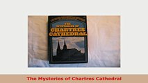 PDF  The Mysteries of Chartres Cathedral PDF Online