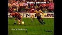 19.09.1990 - 1990-1991 UEFA Cup 1st Round 1st Leg Brondby IF 5-0 Eintracht Frankfurt