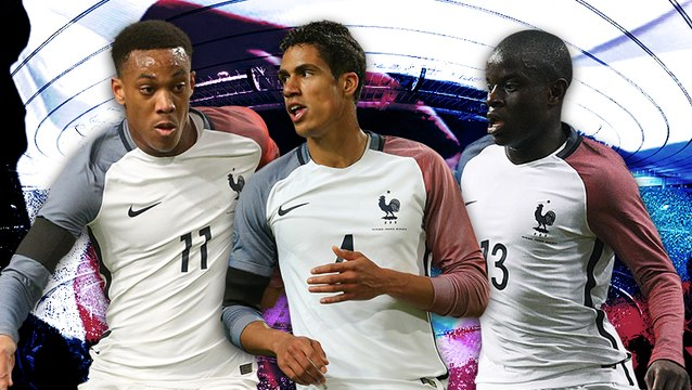 Les compositions probables de France - Russie