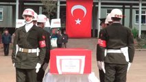 Mardin Şehit Yüzbaşı Halil Özdemir'in Cenazesi Memleketine Uğurlandı-1