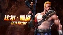 Gameplay de la versión de Contra para móviles