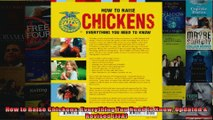 How to Raise Chickens Everything You Need to Know Updated  Revised FFA