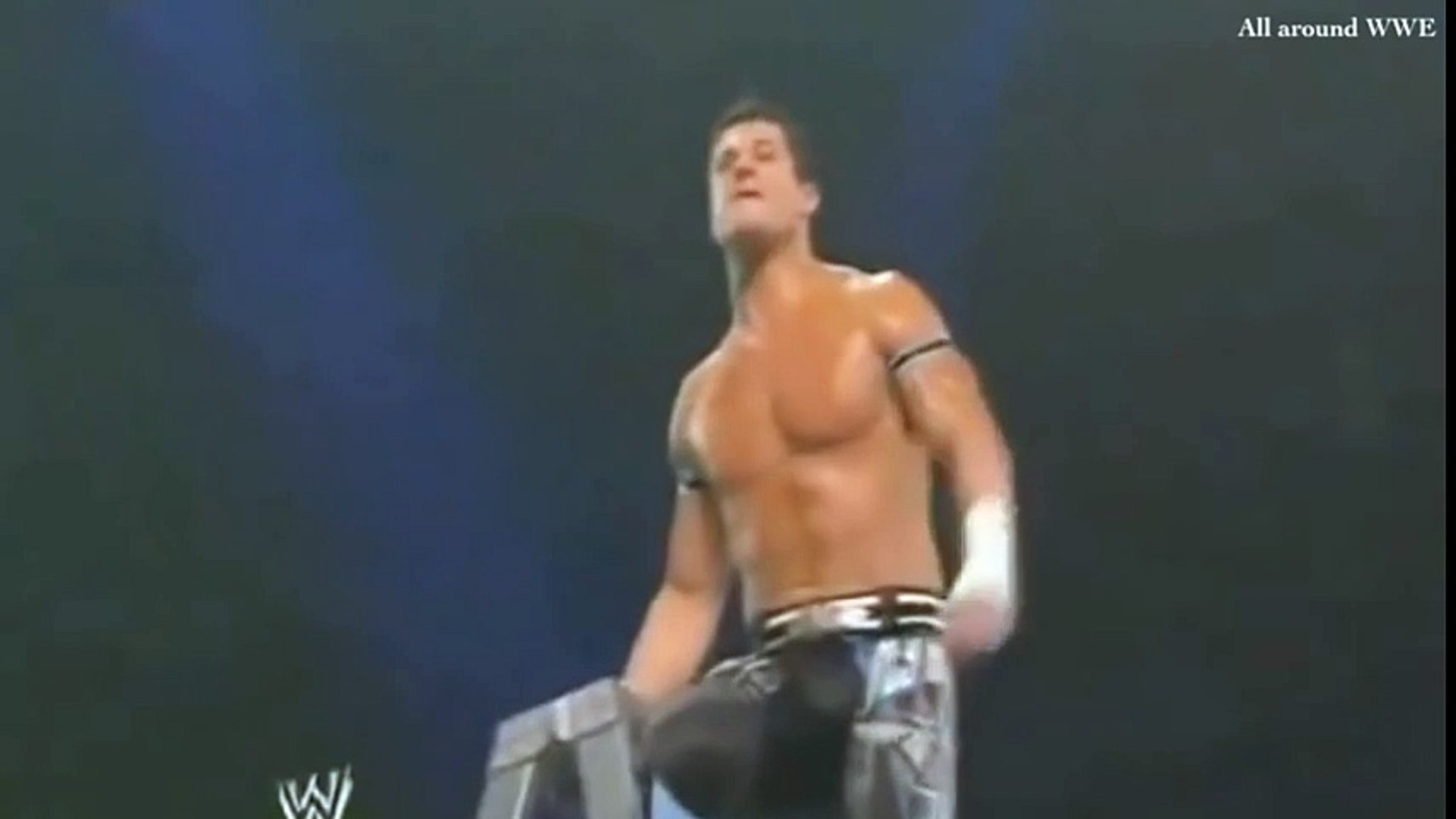 WWE Evan Bourne Shooting star press off the Ladder Slow Motion Replay from Money In The Bank 2011