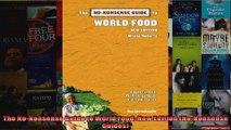 The NoNonsense Guide to World Food New Edition NoNonsense Guides