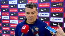 FCB Handbol: Declaraciones Xavi Pascual, previa Ciudad Encantada- FC Barcelona Lassa