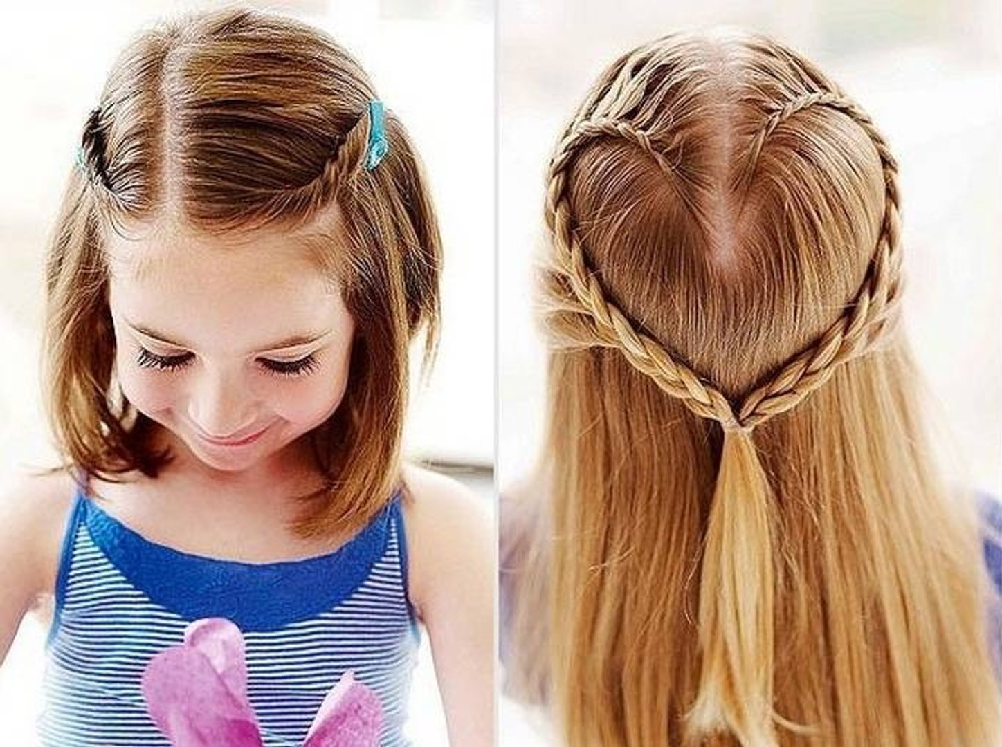 Quick Cute and Easy Hairstyles - Latest Hairstyles - Hairstyles For  School-Girls