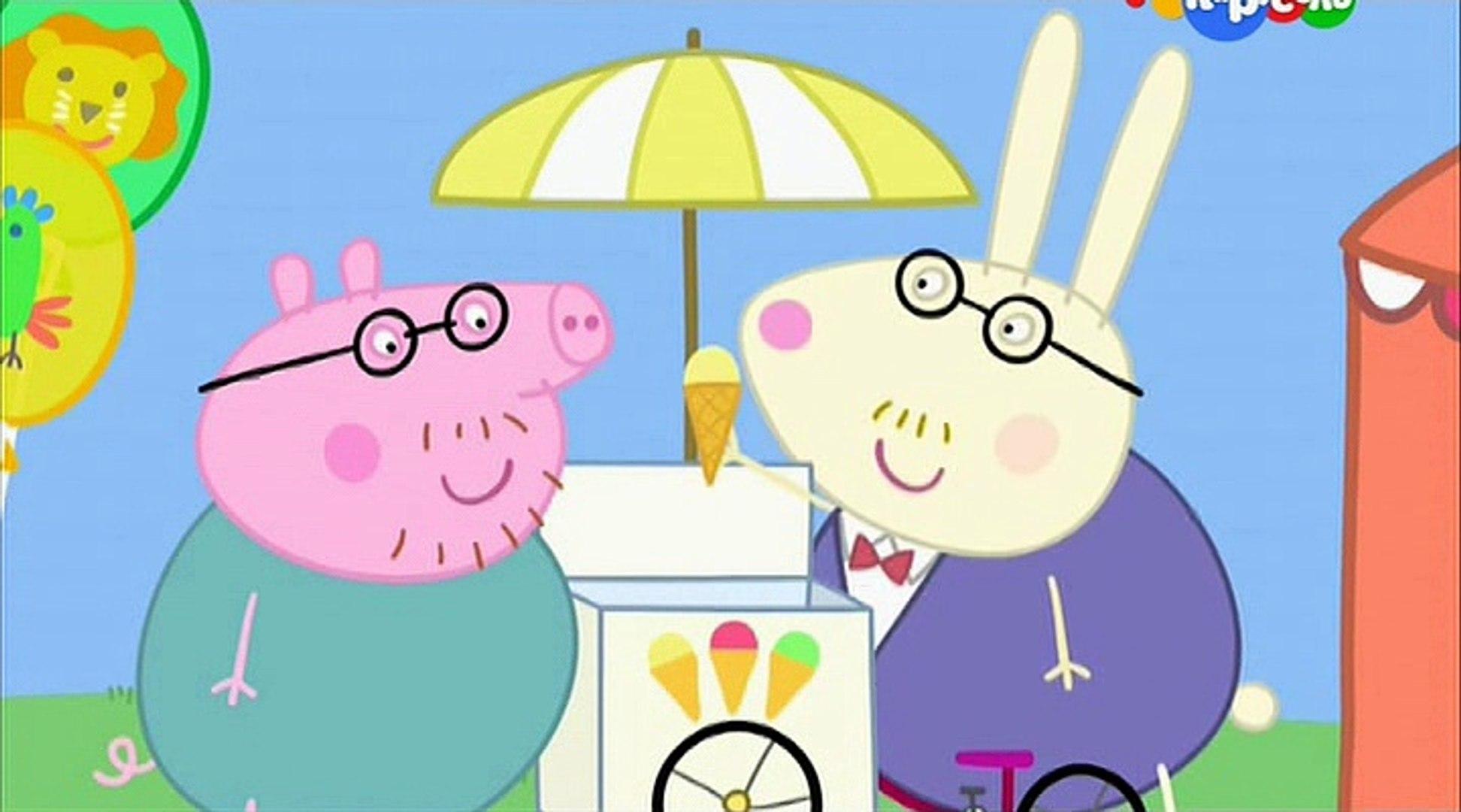 Свинка Пеппа- Вертолёт мисс Кролик- Miss Rabbit's Helicopter -Все серии подряд Свинка Пеппа